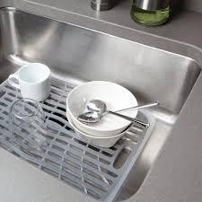 Stainless Steel Kitchen Sink Strainer - kitchen magnificent over the sink dish rack sink strainer