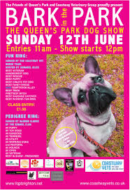 Queen S Dog Bark In The Park Sun 12 June Friends Of Queens Park Brighton