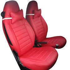 couvre siege cuir yuzhe housse de siège de voiture en cuir pour mercedes smart