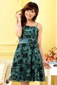 dress pesta contoh model baju pesta wanita modern yang simple elegan cantik