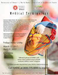 What Is Anatomy And Physiology Class Medical Terminology Course Kohala Institute At U0027iole