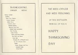 j gilberts thanksgiving menu thanksgiving day menus post your own here page 2 ephemera