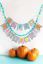 lifestyle halloween party diy halloween banner tell love and partytell love and party