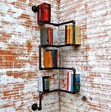 Bookshelves Small Spaces by Awesome Creative Bookshelf Designs Ideas With Regard To Corner