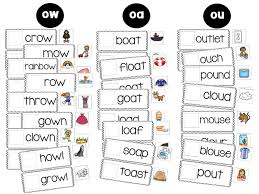 first grade wow ouch a study on ou and ow ou ow diphthong