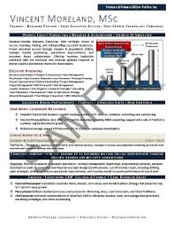 Sample Resume Of Ceo by Executive Resume Samples Mary Elizabeth Bradford The Career
