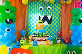Birthday Party Ideas Homemade Party Ideas Monster Party Ideas Little Boys Party First