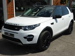 land rover discovery 2015 black used 2015 15 land rover discovery sport sd4 hse 2 2d 190bhp for