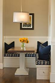 dining room wooden modern breakfast nook ideas astounding