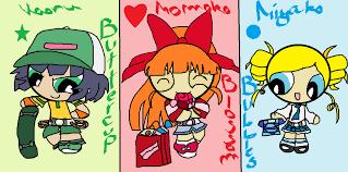 powerpuff girls kimimo1123 deviantart