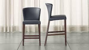 bar stool pics curran grey bar stools crate and barrel