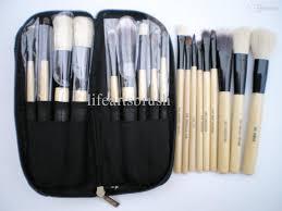 makeup brush set animal hair goat hair deluxe brush for wet u0026amp