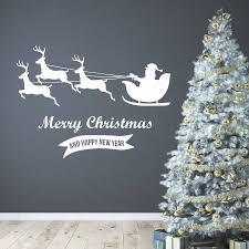 christmas wall stickers custom wall stickers merry christmas wall stickers