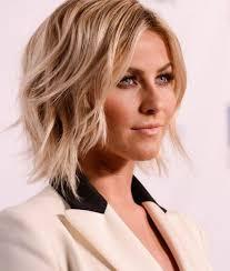 new 2015 hair cuts julianne houghes wavy asymmetrical bob haircuts 2015 hairstyles
