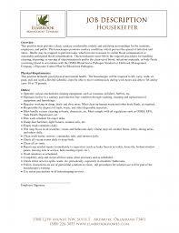 Cleaner Sample Resume Cover Letter House Cleaner Resume Sample Sample Resume For House