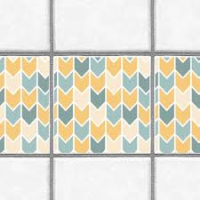 tile decals for kitchen backsplash decorative tiles stickers chevron pattern pack of 16 tiles tile