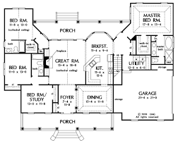 country style house plan 4 beds 3 baths 2195 sq ft plan 929 20