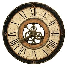 wall clocks southern enterprises gear wall clock hayneedle