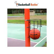 amazon com basketball butler 2 ball storage rack sports u0026 outdoors