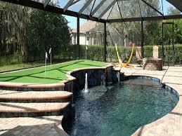 plastic grass brandon wisconsin diy putting green backyard makeover