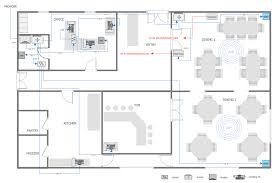 Design A Floorplan by Network Layout Floor Plans How To Create A Network Layout Floor
