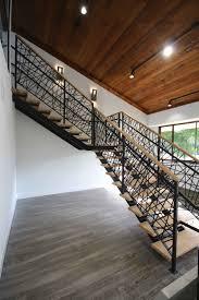 metal floating stairs u0026 straight stair photo gallery acadia stairs