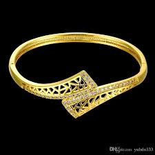bracelet gold patterns images Gold zircon geometry personality pattern fashion ladies gold jpg