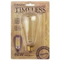 westinghouse 04120 edison style antique light bulb