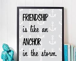 Anchor Print Inspirational Print Quot - anchor quote etsy