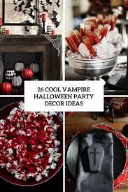 halloween party ideas 2017 26 cool vampire halloween party decor ideas digsdigs