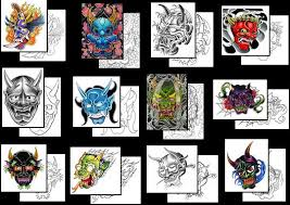 hannya mask tattoos what do they mean hannya mask tattoos