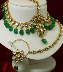 bridal set for rent kundan bridal set for weddings 1278 no kundan green on rent