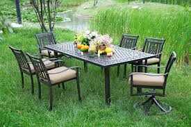 Patio Set With Swivel Chairs Patio Furniture