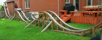 roller coaster for backyard rollercoaster built by teen in backyard daily of the day