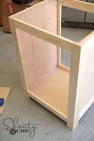 Building A Bathroom Vanity Diy Bathroom Vanity Shanty 2 Chic
