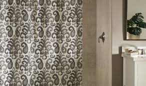 Croscill Fairfax Shower Curtain by Damask Shower Curtain Lovely Navy Blue And White Curtains And