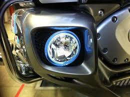 goldwing driving lights reviews blinglights 2012 2017 honda goldwing gl1800 halo fog l angel eye