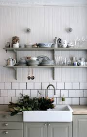 open shelving in the kitchen interiors pinterest open