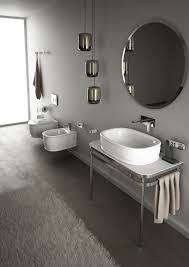 Bathroom Designs For Small Spaces Wall Hung Sanitary Fixtures For Small Space Conscious Bathroom Designs