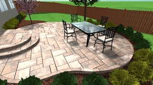 Best Sealer For Stamped Concrete Patio by Stamped Concrete Patio And Steps In Aurora Il By Chicago Brick