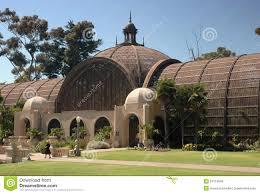 Balboa Park Botanical Gardens by Botanical Building Balboa Park San Diego Royalty Free Stock