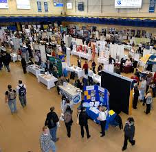 Job Desk Marketing Bank Career Fair Booth Ideas Marketing And Corporate Promotion