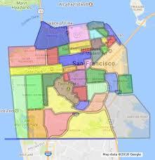 san francisco map detailed san francisco neighborhood boundaries