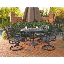 Dining Room Table With Swivel Chairs by Cambridge Legacy 5 Piece Patio Dining Set With 4 Swivel Rockers