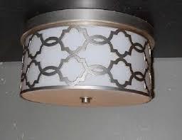 pottery barn ceiling lights pottery barn delphine trellis flushmount ceiling fixture ebay