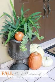 website for home decor fall front porch and fabulous urn planter fox hollow cottage arafen