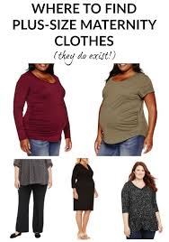 where to find plus size maternity clothes brand recommendations