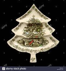 christmas tree shaped serving platter madman vintage atomic