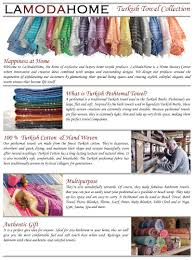 amazon com lamodahome turkish towel chevron style 100 cotton