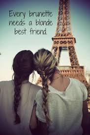 From Paris With Love Meme - two girls in paris best friend quote meme